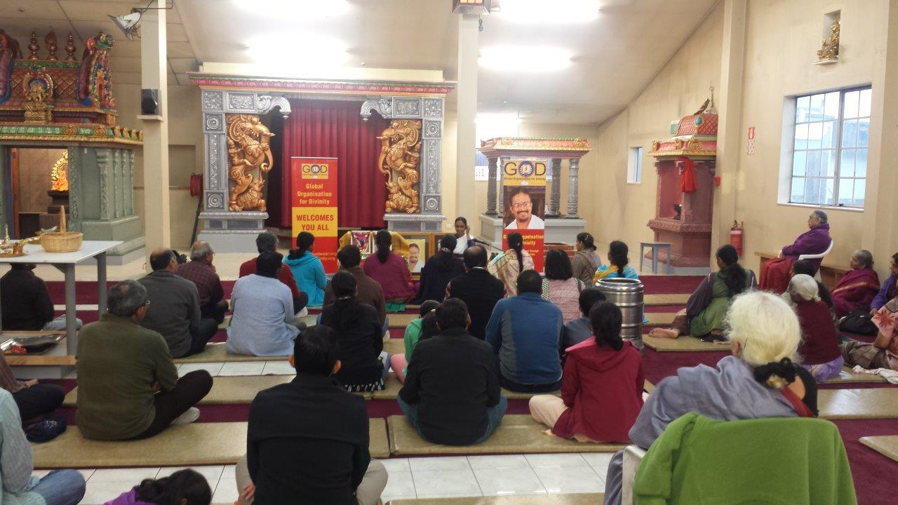 'Path of Divine Love – Navayogi Upakhyana' Lecture in New Zealand