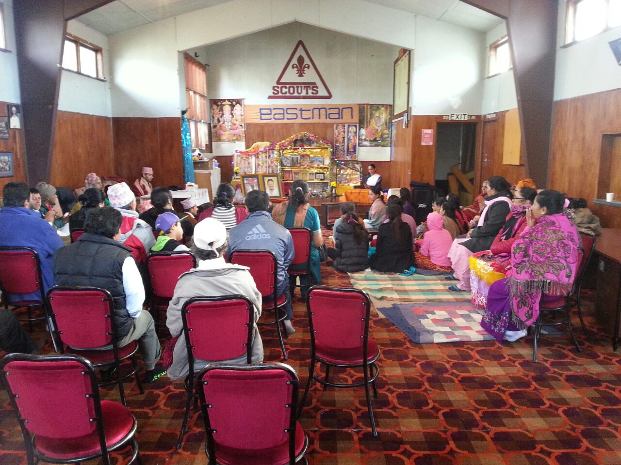 Satsang at Nepali Vaishnav Parishad, NZ