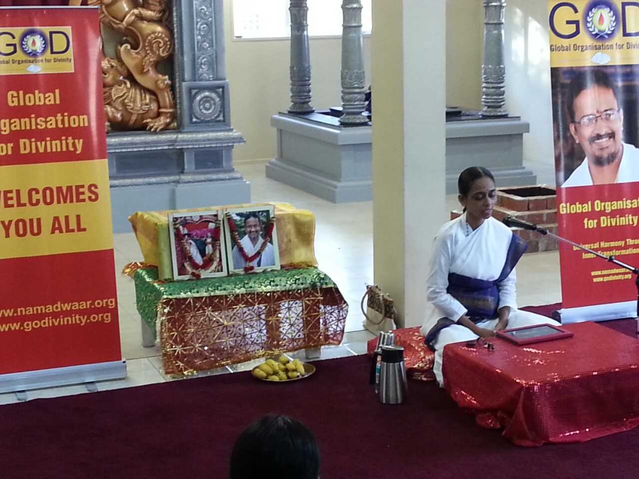 Satsang at Kurinji Murugan Temple, NZ