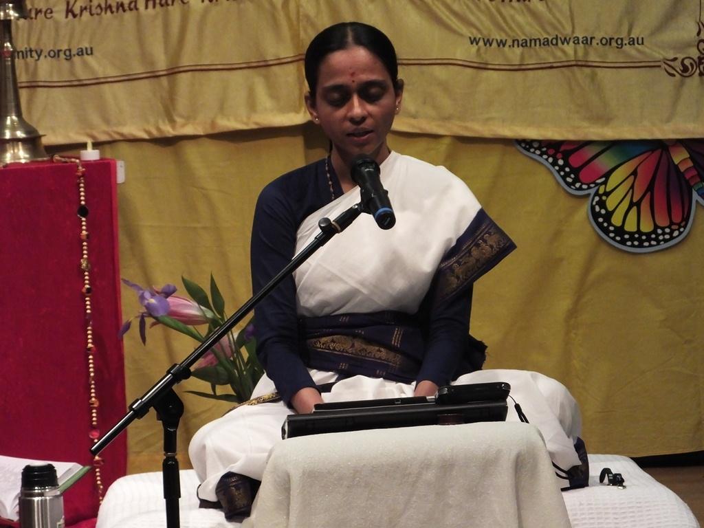 Bhagavata Dharma Lecture in Ashburn, Melbourne